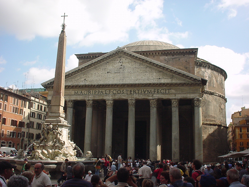 Week 3 in Italy: 3-Day Trip to Rome - Dylan Brown Designs   Pantheon Dome Exterior