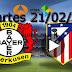 Bayer Leverkusen vs Atlético de Madrid en directo