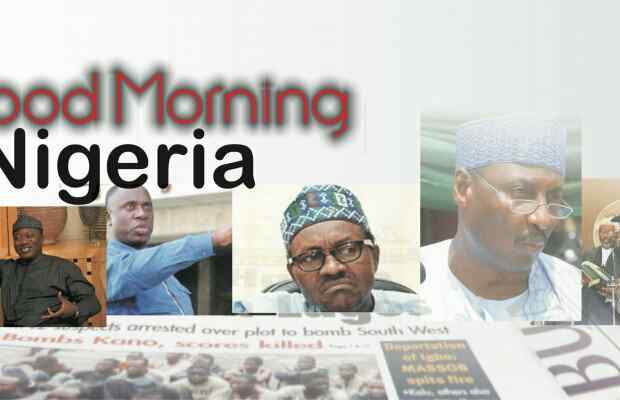 Nigerian newspapers: 10 things you need to know this Saturday 2nd March morning