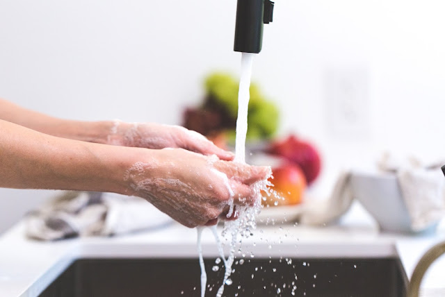 Hand washing - #HANGINfection