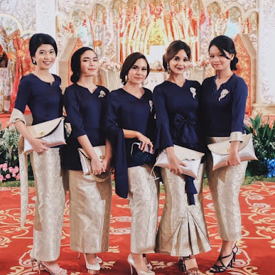 Kumpulan Inspirasi Kebaya Batik Modern Indonesia