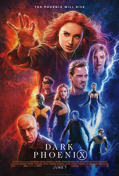 Poster of X-Men: Dark Phoenix (2019) Dual Audio [Hindi-DD5.1] 720p BluRay ESubs Download
