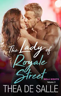 romance novel covers, contemporary romance, The Lady of Royale Street by Thea de Salle