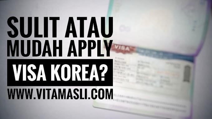 Sulit atau Mudah Mengurus Visa Korea ?