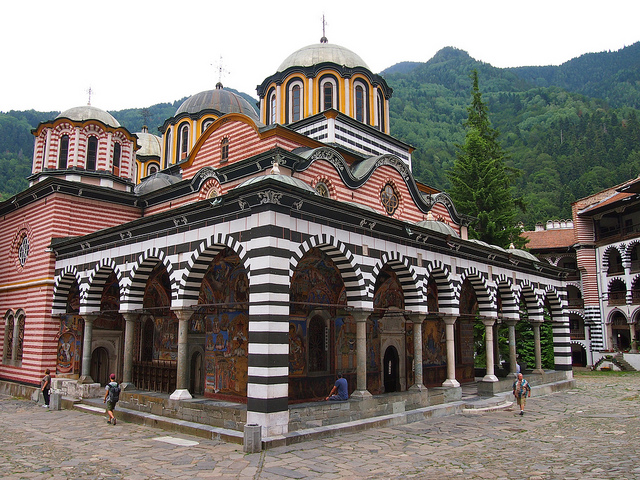 Το Μοναστήρι του Αγίου Ιωάννη της Rila