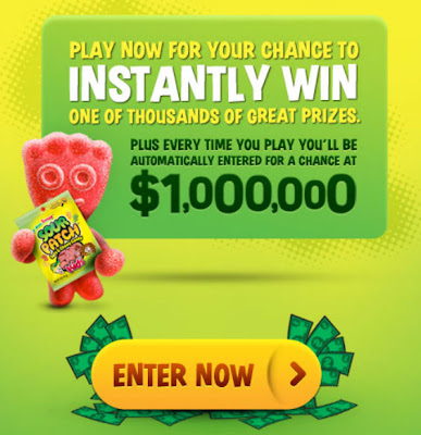 sour patch win a million dollars