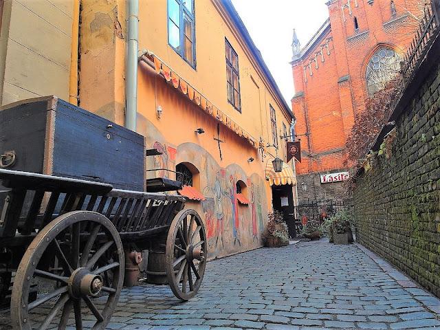 medeltida restauranger i Riga