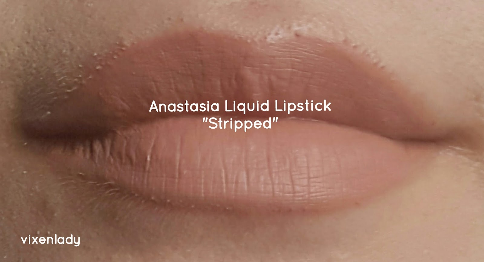 "Review & Swatches: Anastasia Beverly Hills Liquid in ""Stripped"""