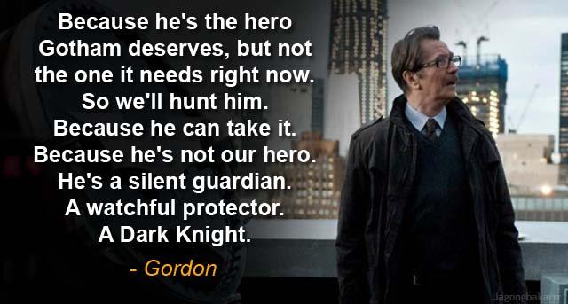 kumpulan quote fenomenal dari batman and the dark knight trilogy