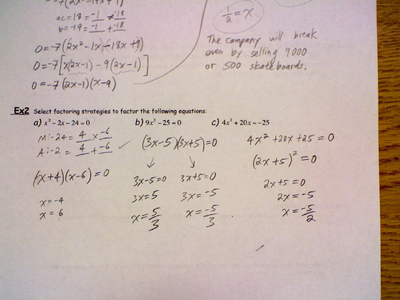 New How To Solve Quadratic Equations Grade 9