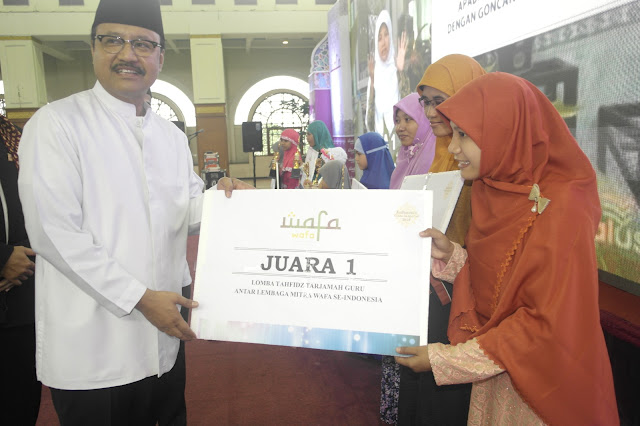 WAFA Luncurkan Indonesia Cinta Al Qur'an