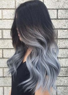 gray ombre hair
