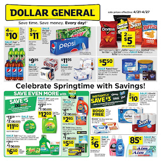 ⭐ Dollar General Ad 4/21/19 ✅ Dollar General Weekly Ad April 21 2019