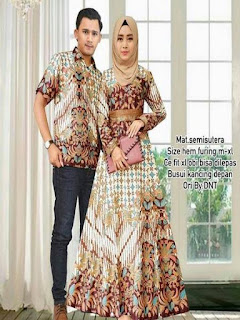 model baju batik pesta sekarang