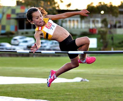 Games and exercises to teach the technique of high jump in athletics