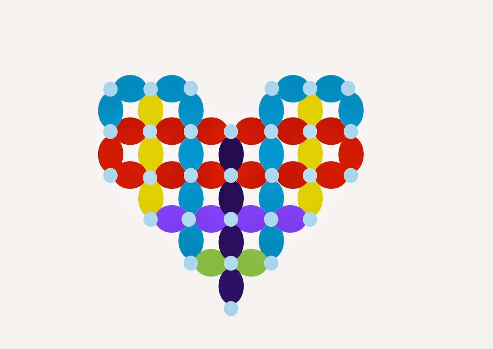 The Very Best Balloon Blog How To Make A Simple Quick Link Heart For Uninitiated Users