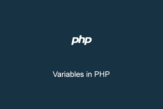 Belajar Variabel di PHP