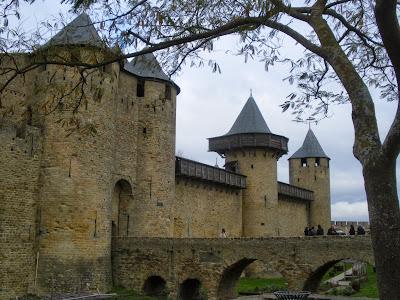 Castell de Carcassona Carcassonne Cite Aude Pays Cathare