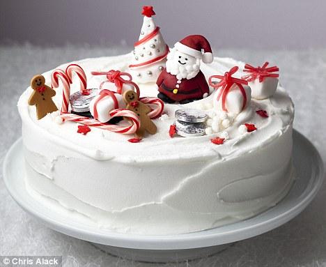 Merry Christmas Cakes Recipe Ideas