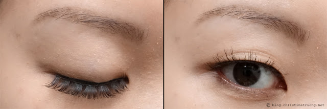 SocialEyes - Let Your Eyes Do The Talking. SocialEyes Brunette Lashes Review for Monolids.