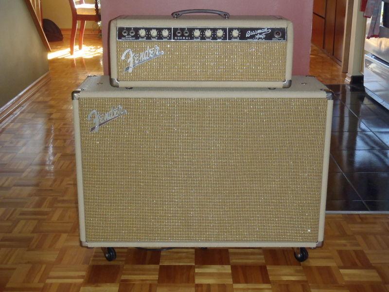 canadian vintage guitar hunt 1963 fender bassman blonde 6g6 b tube amp. Black Bedroom Furniture Sets. Home Design Ideas