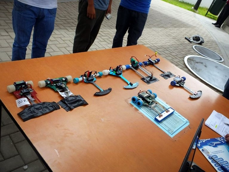 Taller quot robot velocista de competencia aprendiendo