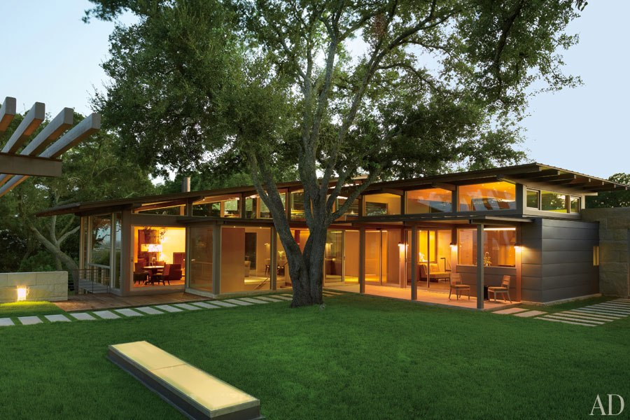 Country Minimalist: New Home Interior Design: A Minimalist House In The Texas