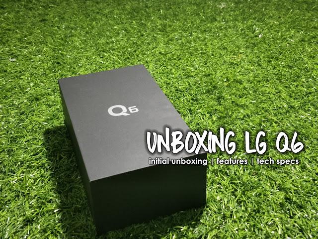 LG Q6 Ice Platinum