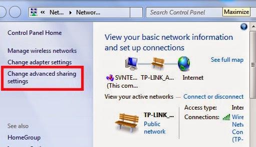 Cách share dữ liệu ổ đĩa, thư mục trong windows 7 thông qua mạng lan