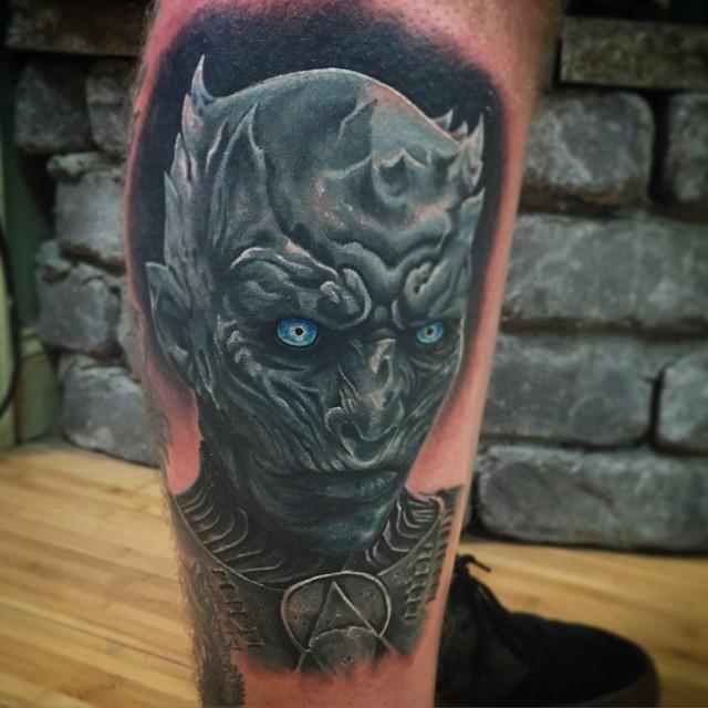 impresionantes tatuajes de juego de tronos
