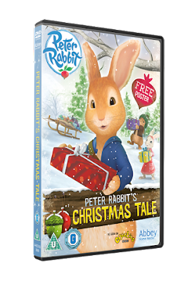 Peter Rabbit's Christmas Tale on DVD - Review and Giveaway
