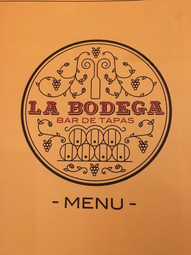 La Bodega Spanish Tapas Bar Cardiff menu