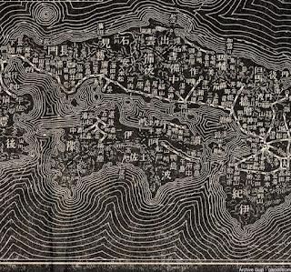 明治38年(1905)大日本汽車線路略図_近畿・中国