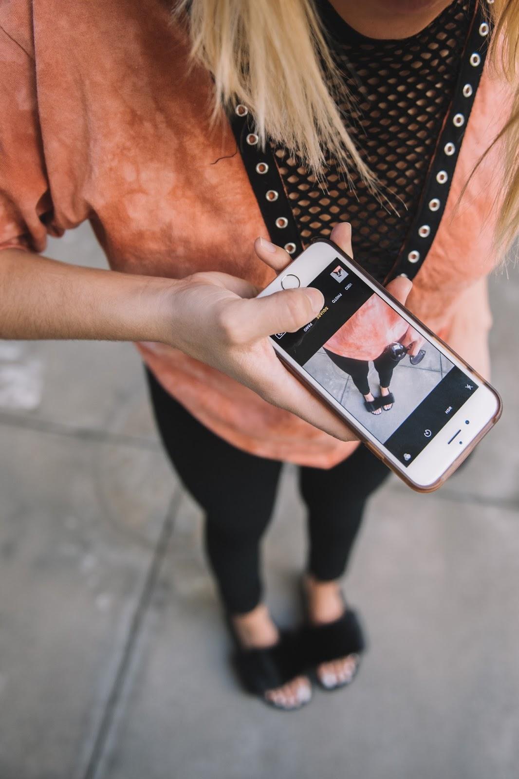 Urban Outfitters Fur Slides - @ taylorwinkelmeyer
