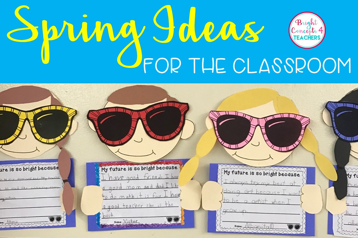 Spring Ideas For Your Classroom Can T Find Substitution For