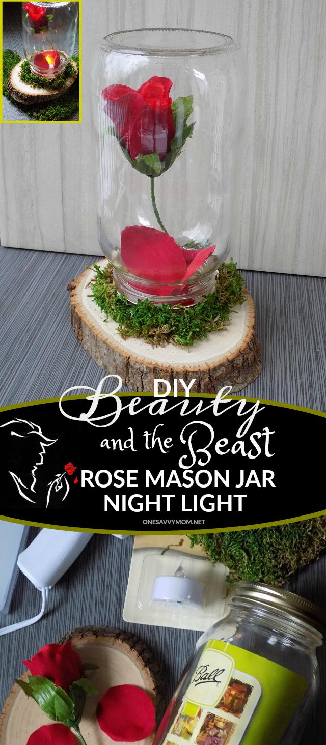 One Savvy Mom Nyc Area Mom Blog Diy Beauty And The Beast Rose