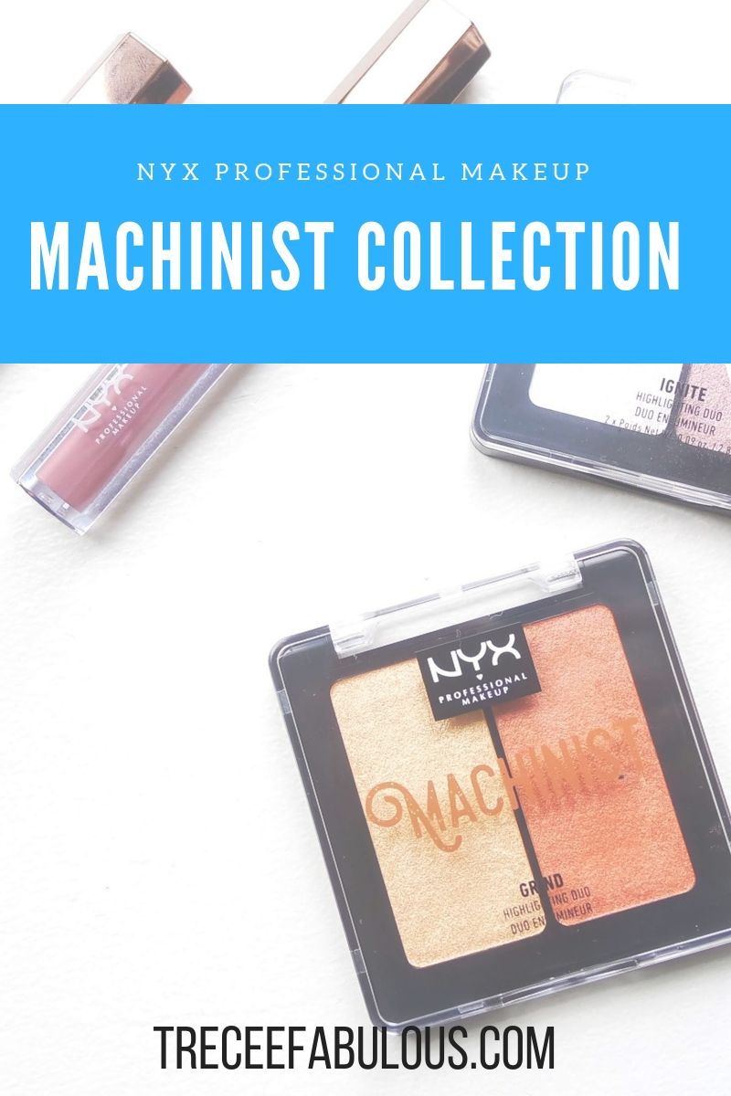 Nyx Professional Makeup Machinist Collection