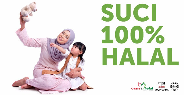 CCM Duopharma Suci 100% Halal