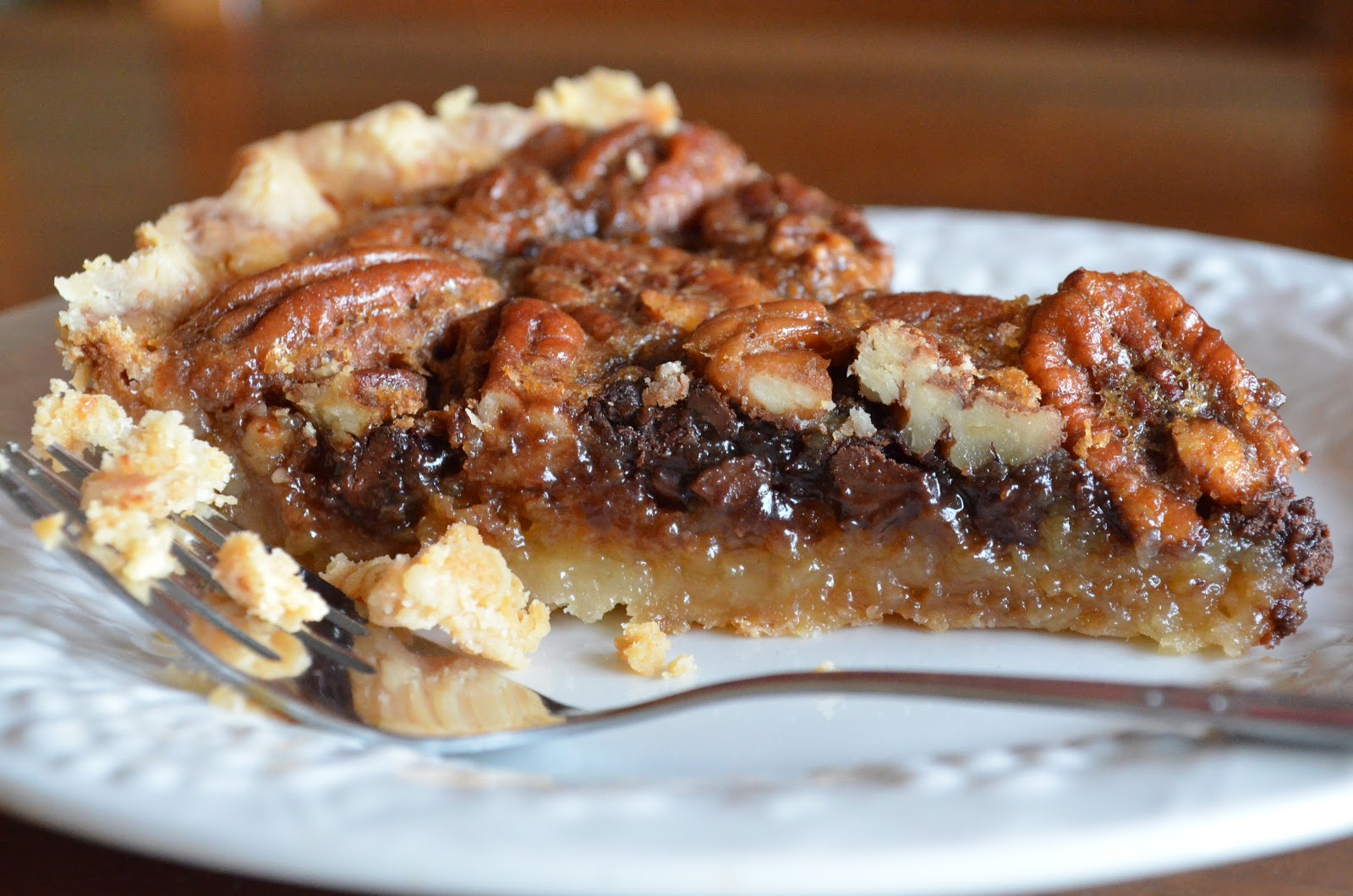 Pie on Sunday: Turning 7, and Chocolate Chip Pecan Pie