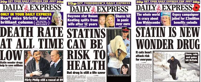 statins - Epidemia de estatinas: prescripción para todos los mayores de 50. Farmacéuticas desencadenadas