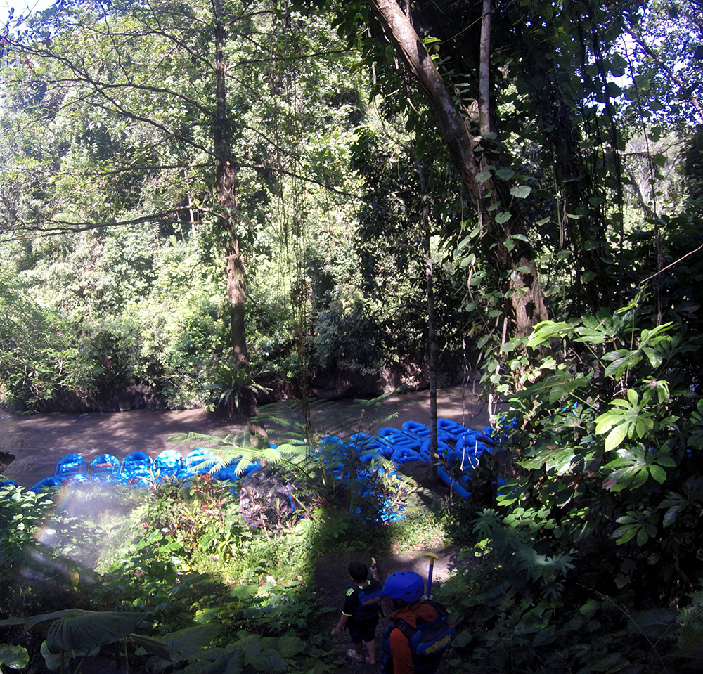 Tesyasblog Rafting With Kids At Ayung River Ubud Tiket Sungai Bali Ter Short Aaah Finally