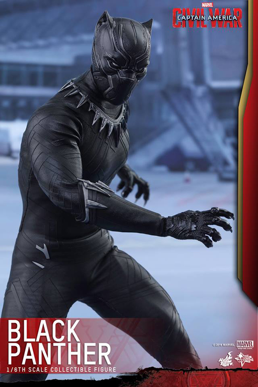 Captain America: Civil War 1/6th scale Black Panther Collectible Figure