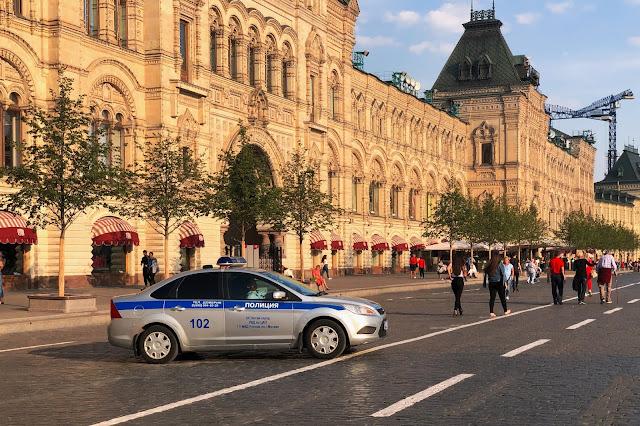 Красная площадь, ГУМ, полиция | Red Square, GUM, police