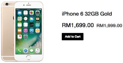 Apple iPhone 6 32GB Gold Malaysia Price Cut