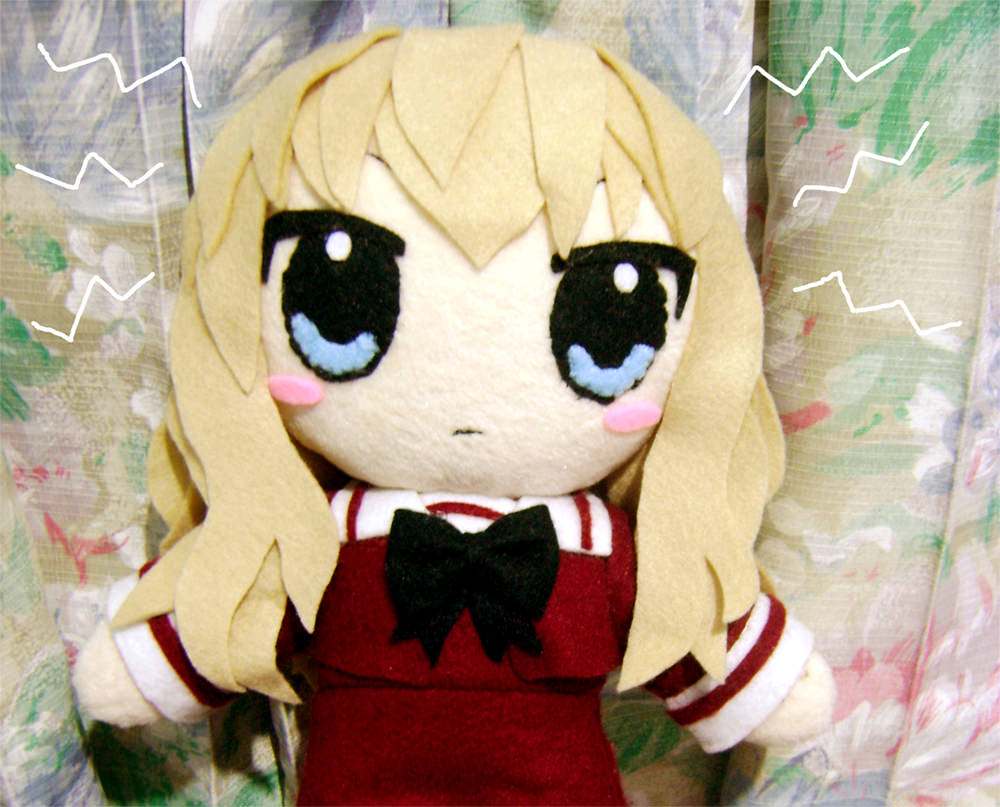 Handmade Anime Plush Dolls