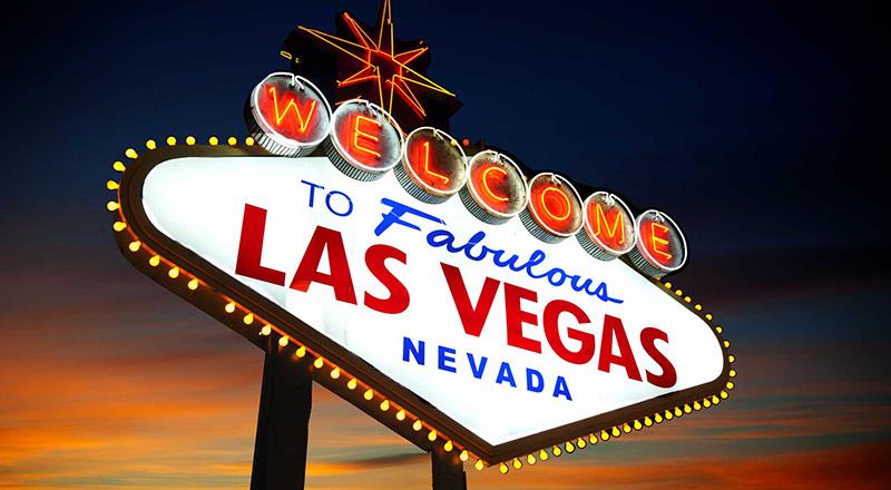 Las Vegas é a cidade mais populosa e mais densamente povoada do estado americano de Nevada. Foto: Divulgação.