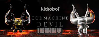 "Arcane Divination Devil Dunny 8"" Vinyl Figure by Godmachine x Kidrobot"