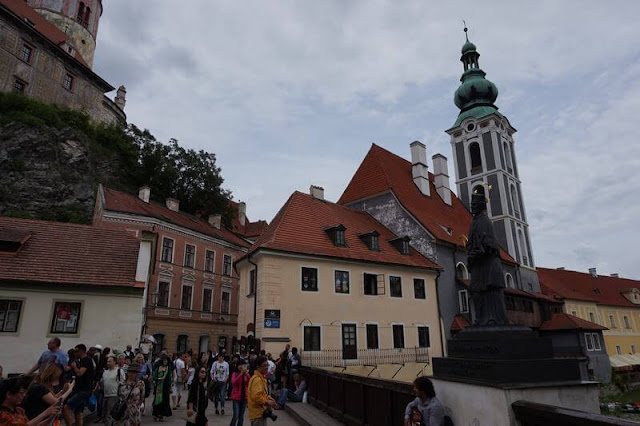 calle Latrán de Český Krumlov