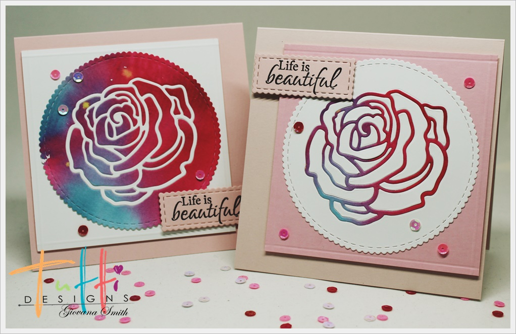 Hang Tags  FOR YOU RED ROSE TAGS or MAGNET #419  Gift Tags