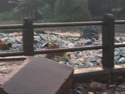 Photos: Refuse Take Over Abesan River In Lagos